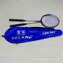 2015New chega Wholrsale preto e azul ferro XL261 especializada Badminton Racket