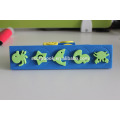 EVA cute foam fish and shark patterns stamp for kids