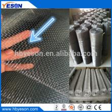 Anping 6 Mesh Elektro galvanisierte gewebte Hardware Tuch Drahtgeflecht