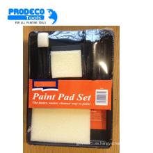Cojín de nylon de la pintura de la tela 5PCS