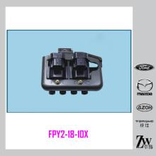 Novas bobinas de ignição de faísca FPY2-18-10X, FP39-1810-XD Pacote para MAZDA MX 5 MX-5 1.8 / 1.9 1998-2001 DSC550