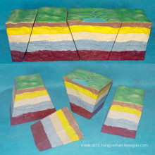 Landform Structure Model for Geography Teaching Equipment in Middle School (R210106)