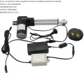 12v Electric Actuator 300mm stroke 4000N load capacity