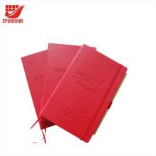 Caderno A5 personalizado do presente do logotipo do presente do negócio da alta qualidade