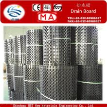 Panneau chaud de drainage de vente / tuyau de drainage utilisé pour le drainage de sous-sol