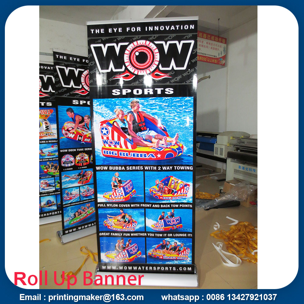 luxury roll up stands