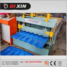 Dx 828 Glazed Roofing Tile Roll Forming Machinery