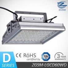 60wd высокой эффективности LED высокой залив света CE/RoHS/FCC энергосбережения