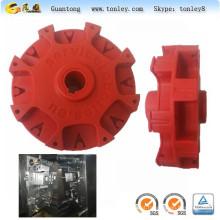 molde plástico de roda parte para robô