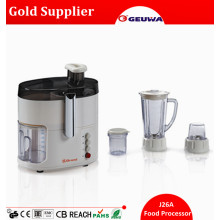 Geuwa 4 in 1 Multifunctional Home Used Food Processor Electric J26A