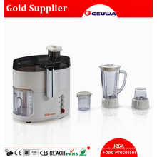 Geuwa 4 em 1 multifuncional casa usado Food Processor elétrico J26A