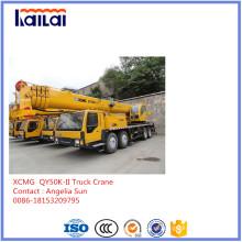 50 Tonnen XCMG Mobiler LKW-Kran auf Lager LKW-Kran Qy50k-II