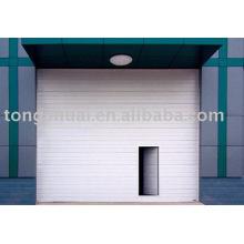 industrial eléctrico de la puerta