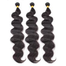 De calidad superior 100% virginal remy humano mejor cabello indio
