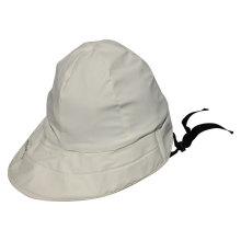 Белый PU дождь Hat / дождь Cap / плащ для взрослых