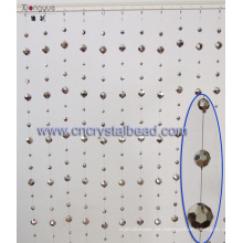 Windows Kristallglas facettiert Ball Vorhang