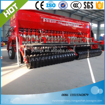 Farm machinery Automatic wheat small tractor seeder
