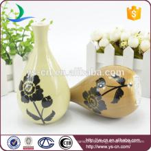 Großhandel Decal kleine Keramik dekorative Vase