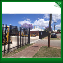 PVC coated commercial garrison fencing