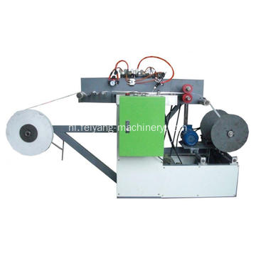 koudlijm plat papier touw making machine