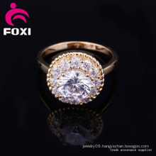 Hot Sale Handmade Engagement CZ Ring