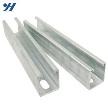 Aço de canal universal de material de construção padrão de alta qualidade JIS promoção China