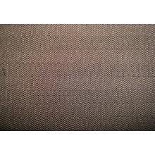 Tissu en sergé tressé et négatif en soie de laine