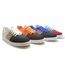 Sneakers Flyknit Sports Running Colorful Casual Men Vulcanization Shoes