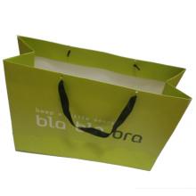 Напечатанная Бумажная хозяйственная сумка с ручкой Группа