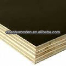 linyi waterproof formwork plywood/film faced plywood with brand name