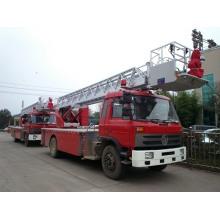 Camion de pompier de plate-forme aérienne de 25m Dongfeng