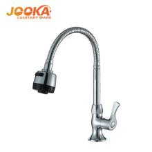 Modern design single quick open flexible water kitchen taps