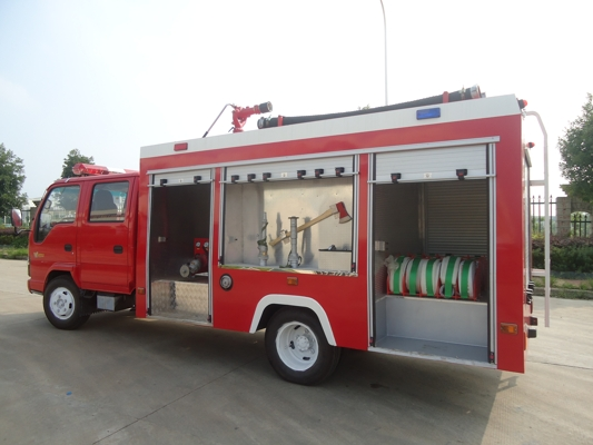 HOWO RHD Fire Fighting Vehicle 6500Liter Water Tank
