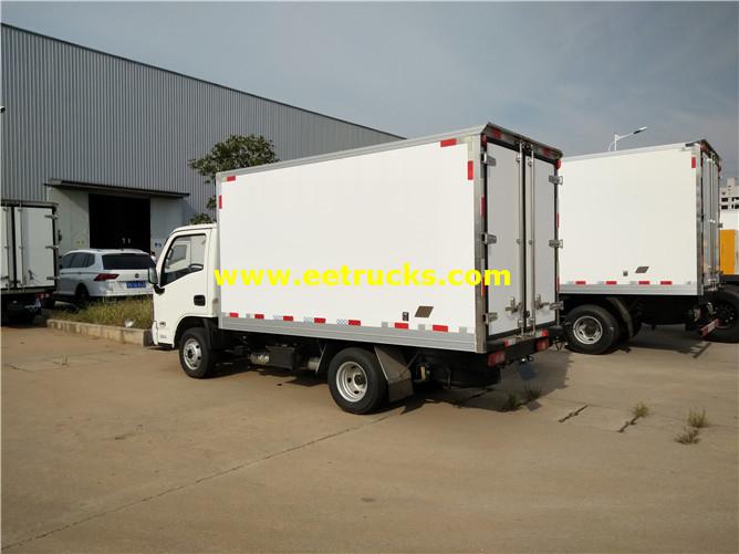 Refrigerated Van Vehicles