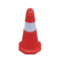 50cm Soft Flexible PE plastic parking traffic cones