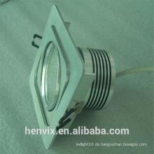 Kardanische rechteckige LED-Einbauleuchte Hersteller