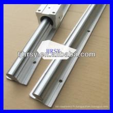 SBR rondelle Rail à glissière linéaire et bloc SBR20