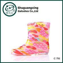 Cool Funky Children Rain Boots wholesale kids shoes C-705
