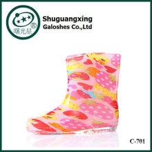 Прохладный фанки детей дождя сапоги оптом детская обувь C-705