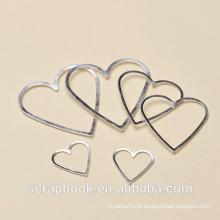 Top amor forma quadros de imagem/marca para venda quente