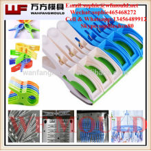 OEM Custom plastic clothes pegs mould/Alibaba plastic injection clothes pegs mold supplier