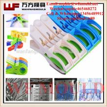 Прессформа колышков одежд OEM изготовленная на заказ пластичная / прессформа шпеньков одежд впрыски Alibaba пластичная отливает в форму поставщик