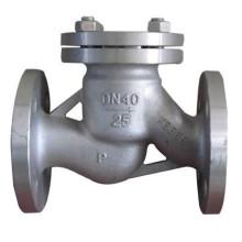 Válvula de retención de acero inoxidable Swing