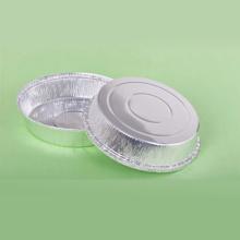 Placa redonda única da folha de alumínio para o piquenique