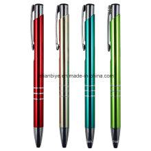 Bolígrafo de aluminio anodizado para promoción (LT-C686)