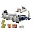 Máquina automática de impressão e corte de folhas Flexo
