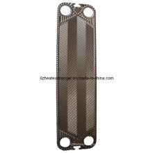 Placas y juntas de componentes del intercambiador de calor (igual a V110)