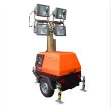 Lámpara de halogenuros metálicos 4000w Torre de luz portátil