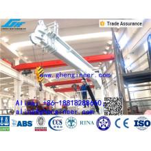 1.5T@15M Telescopic Boom Hydraulic Crane Marine Crane