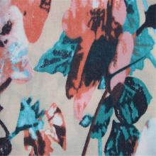 Tecido Misturado Rayon de Algodão Grande com Flor